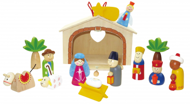 Kinder Weihnachtskrippe.Kinder Weihnachtskrippe Bei Kirchliche Kunst De