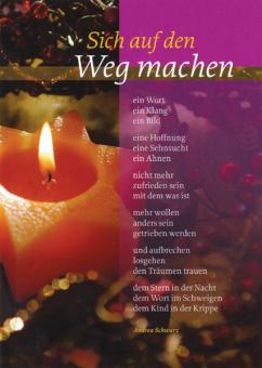 Religiöse Weihnachtskarten.Weihnachtskarte Sich Auf Den Weg Machen Bei Kirchliche Kunst De