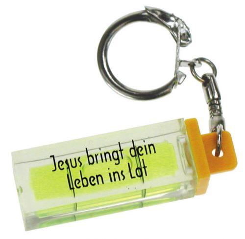 """Schlüsselanhänger """"Mini Wasserwaage"""""""