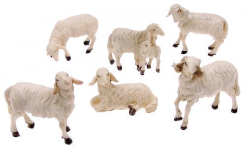 Tier Set Schafe 6 Stück
