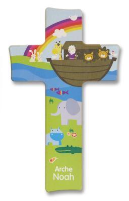 Kinderkreuz - Arche Noah bunt