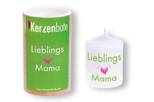 Kerzenbote - Lieblingskerze Mama