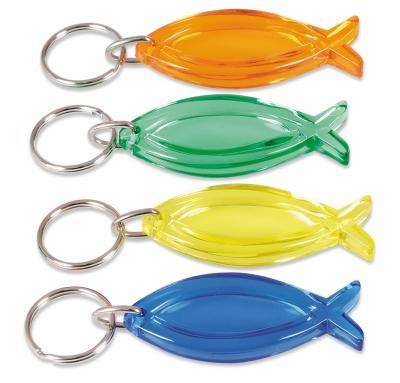 """Schlüsselanhänger """"Fisch"""" 5 farben"""