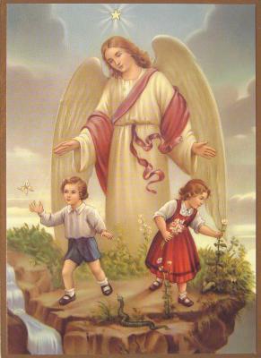 Engelbild - Kinder Aussicht
