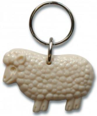 Schlüsselanhänger - Schaf in 6 Farben lieferbar