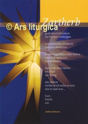 Weihnachtskarte - Zartherb