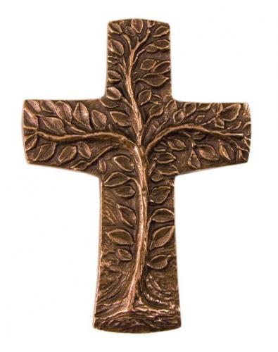 Bronzekreuz - Baum des Lebens