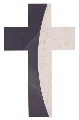 Schieferkreuz 2 teilig