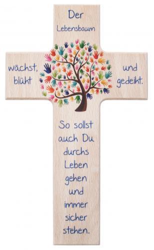 Kinderkreuz - Der Lebensbaum natur