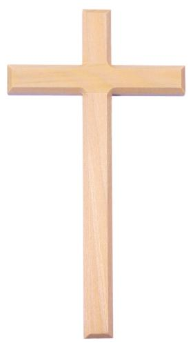 Kreuz aus Ahorn schlichte Form