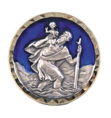 Christophorus-Plakette - Heiliger Christophorus