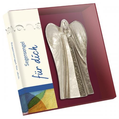 Neusilber Handschmeichler - Segensengel für dich