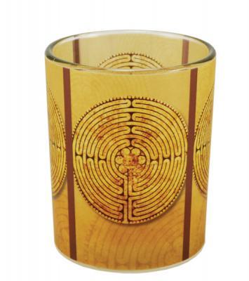Windlicht - Labyrinth