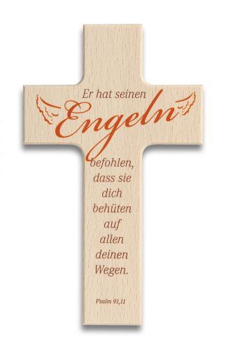 Kinderkreuz - Er hat seinen Engeln