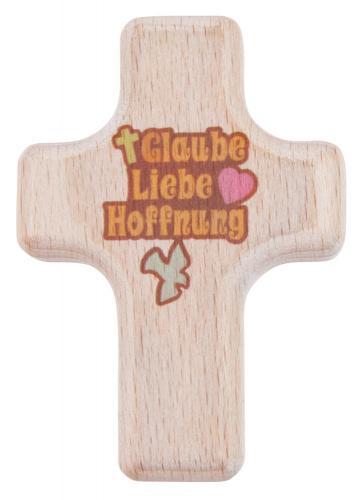 Holzhandschmeichler - Glaube, Liebe, Hoffnung