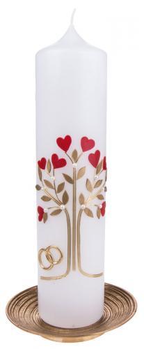 Hochzeitskerze - Baum der Liebe