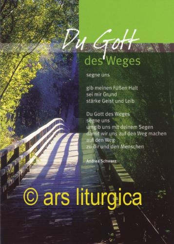 Konfirmations Karte - Du Gott des Weges ...