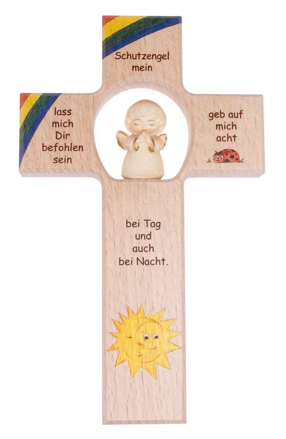 Kreuz für Kinderzimmer - Schutzengel