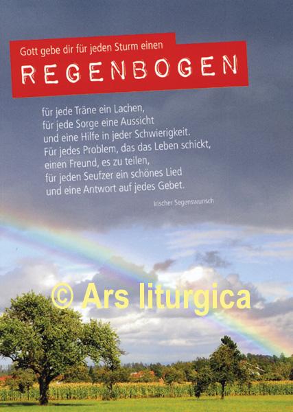 Karte Zur Firmung Gott Gebe Dir Für Jeden Sturm Einen Regenbogen